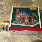 Lemax Putnams Bait And Tackle Shop & Gearing Up-Lighted Holiday Village