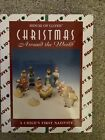 1994 House of Lloyd CHILDS FIRST 1st NATIVITY SET 13 Christmas Holy Family EUC
