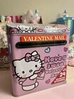 Sanrio Hello Kitty Valentines Day Mailbox With Stickers 2021 NEW Rare