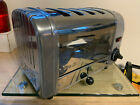 DUALIT 4 SLICE 4 BREAD TOASTER POLISHED GREAT CONDITION PAT TESTED