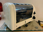 DUALIT 4 SLICE VARIO TOASTER 42176 POLISHED  CREAM GREAT COND PAT TESTED