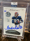 Panini SEALED Flawless Blue On Card Autograph AUTO Bills Andre Reed 2 2!!! 2015
