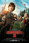 HOW TO TRAIN YOUR DRAGON 2 MOVIE POSTER 2 Sided ORIGINAL INTL FINAL 27x40