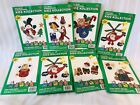 Lot Of 8 Kidz Kollection Iron On Fabric Applique Kits WHATS NEW LTD Holiday