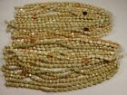 4 Pounds Assorted Shapes and Styles Almond India Handmade Glass Beads GRP 14