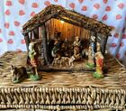 Vintage made in Italy Fontanini Creche 13 piece nativity set