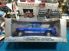 WELLY 118 SCALE COLLECTION 1999 BLUE CHEVROLET SILVERADO Z71 PICKUP TRUCK