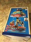LEMAX Yuletide Carousel -Holiday Village-Train-Carnival Sights & Sounds