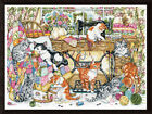 Design Works COUNTED Cross Stitch Kit 3408 Sew Many Kittens