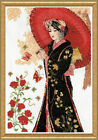 Design Works COUNTED Cross Stitch Kit 3378 Red Parasol