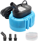 Lnicez Pool Cover Pump Above Ground Submersible Sump Pump Swimming Water Remo