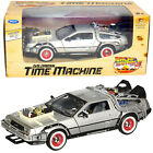 DELOREAN DMC BACK TO THE FUTURE 3 WELLY 1 24 SCALE DIECAST MODEL CAR NEW IN BOX