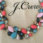 NWT JCrew Factory Crystal MIXED STONES NECKLACE