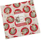DEER CHRISTMAS Layer Cake Quilting sewing Fabric Urban Chiks Moda 31160LC
