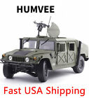 118 Scale Diecast Car Model Toys Humvee Military Battlefield Vehicle Replica