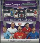 2018 Topps Platinum English Premier League Soccer Sealed HOBBY Box 2 AUTOGRAPH