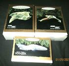 HALLMARK ORNAMENT STAR TREK LOT~USS VOYAGER, BIRD OF PREY & WARBIRD~ALL TESTED!