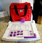 Purple Cows Ultimate Trimmer 1050 with 11 Click Blades and EZ Quilting Bag