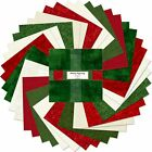 Christms Holiday Happenings Wilmington Cotton Fabric 10 Layer Cake 42 Squares