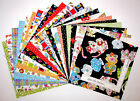 Loralie Calico Kitty Cat Colorful Cotton Fabric 10 Layer Cake 42 Squares