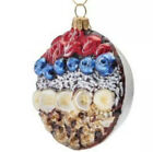 Easter Fruit Bowl Glass Ornament Aa Banana Blueberry Food Breakfast Berry Nut