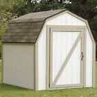 Outdoor Garden Storage Shed Kit Tools Wooden Backyard Unit Utility Building Yard