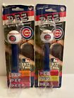 NEW Chicago Cubs PEZ Candy Dispenser Baseball Collectible Lot If 2 From 2007
