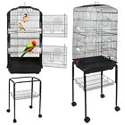 Parakeet Finch Budgie 59 Inch Rolling Bird Cage Conure Lovebird House  Stand