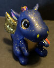 TY Beanie Boos Mini Boo MYSTERY CHASER SERIES 3 Collectible SAPPHIRE THE DRAGON