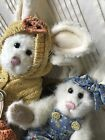 Set Of 2 Vintage BOYDS BEARS Bunnies GRAHAM QUACKERS! 2001~and 1998 Bunny