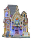 Lemax CAROLS FOR CHRISTMAS  -Changing Colors Lighted Holiday Village