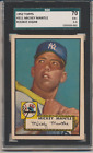 1952 Topps Mickey Mantle #311 SGC70