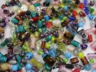 4 Pounds Assorted Shapes Sizes  Styles Chinese Glass Beads Bulk Lot OO 32