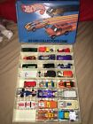 Vintage 1975 Hot Wheels 23 Car Collectors Case with lot Matchbox Misc