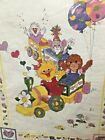 Suzys Zoo TRAIN Cross Stitch kit Set Quilt Bibs and Birth Announcement