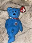 Retired TY Beanie Baby Addison Cubs Baseball Bear 2001 mint w/tags