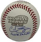 Curt Schilling Boston Red Sox Autographed 2004 World Series BB Reverse the Curse