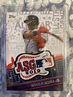 2019 Topps MLB ALL STAR GAME PATCH FANFEST CLEVELAND Ronald Acuna Jr SP 100
