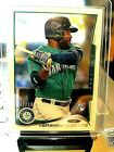 2014 ABRAHAM ALMONTE #7 10 TOPPS CLEAR