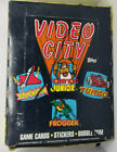 1983 TOPPS * VIDEO CITY * 36 PACK BOX * CARDS STICKERS * DK JR FROGGER TURBO