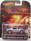 2014 Hot Wheels 2014 Custom Mustang Retro Entertainment Need For Speed RR10SPs