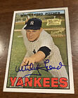 Whitey Ford 2001 Topps Team Legends Certified Autograph 1967 Design Yankees Auto