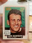 Len Dawson Cards, Rookie Card and Autographed Memorabilia Guide 13
