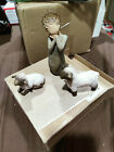 Willow Tree Little Shepherdess Sculpted Hand Painted Nativity Figures 3 Piece