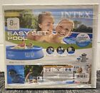 NEW Intex 8x24 Easy Set Round Inflatable Above Ground Pool with Filter Pump