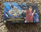 2017 TOPPS PRO DEBUT BASEBALL FACTORY SEALED HOBBY BOX 2 AUTOS + 2 MEM