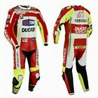 DUCATI Motorcycle Racing Leathers Suit Motorbike Leather Men Jacket Trouser