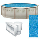 Brazil 24 x 52 Round Above Ground Swimming Pool and Liner