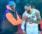 SIGNED Lebron James 8x10 Photo with Kobe Bryant. with COA. Autograph. Lakers NBA