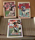 1989 TOPPS FOOTBALL 396 CARDS - COMPLETE BOX FULL SET